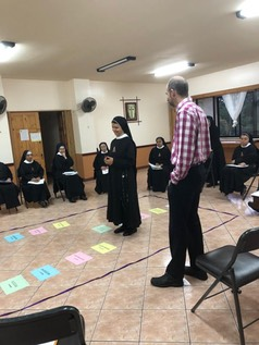 Nuns in Costa Rica on 13 Step DF